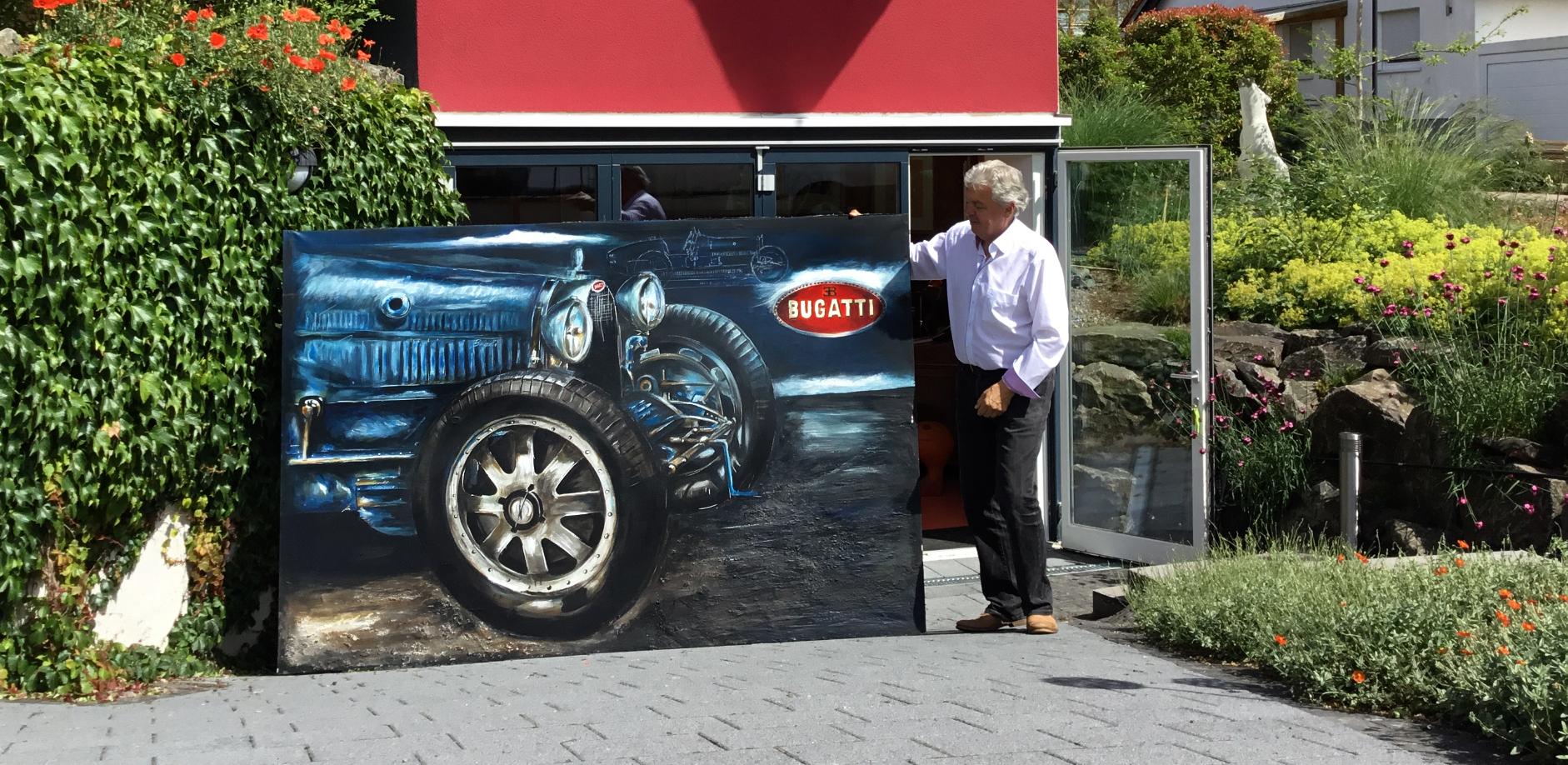 Ihr Auto als Original Zeichnung | Galerie Aurika